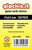 41x63mm Transparent Card Sleeves (10 Packs of 100)
