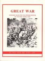 Great War - Wargame Rules for the Opening Months of the First World War