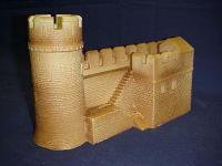 Castle Parapet Wall C
