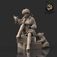 Marusha of the Red Army (54mm)