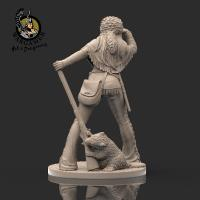 Ruby, the Trapper (28mm)