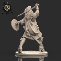 Ailsa, the Highlander (28mm)