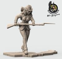 Clara, from the Union Infantry (28mm)
