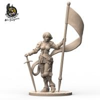 Jeanne, the Knight (28mm)