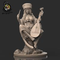 Ksenia, the Cossack (28mm)