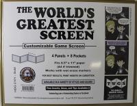 World's Greatest Screen, The - Gold (Landscape/Horizontal)