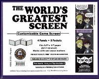 World's Greatest Screen, The - Purple (Landscape)