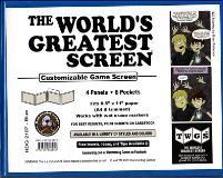 World's Greatest Screen, The - Blue (Landscape)