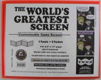 World's Greatest Screen, The - Orange (Landscape/Horizontal)