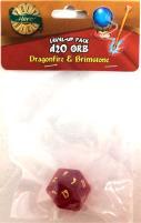 1d20 Orb - Dragonfire & Brimstone