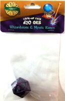 1d20 Orb - Wizardstone & Mystic Runes
