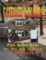 Casemate & Cannon - Naval Fleet Rules for the Age of Steam 1820-1890