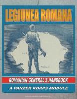 Legiunea Romana - Romanian General's Handbook