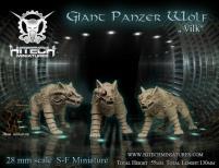 Giant Panzer Wolf - Vilk