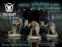 Great Viking Lord - Tyr Ulvar Stormbringer