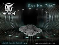 60mm Round Base - Rocky