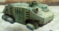 Ikarus Armoured Hovercraft