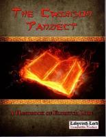 Crimson Pandect - A Handbook of Eldritch Lore