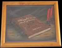 Hoyle's Book 1769 Edition Original Art