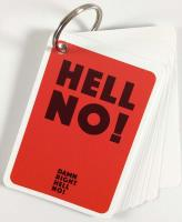 Damn Right Hell No! - Demo Cards