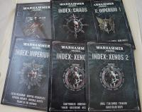 Warhammer 40,000 8th Edition Core Rulebook & Index Collection - 6 Books!