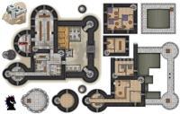 Castle BlackWyrm Erasable Map