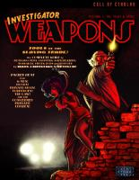 Investigator Weapons Vol. 1 - The 1920's & 1930's