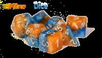 Poly Set Fire & Dice (7)