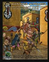 Monster Alphabet, The (2nd Printing, Kickstarter Edition)