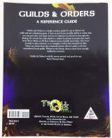Guilds & Orders - Reference Guide