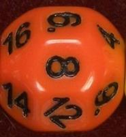 D18 Orange w/Black