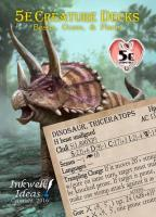 Creature Deck - Beasts, Oozes & Plants