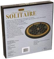 Premium Wooden Solitaire
