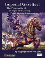 Zobeck Gazetteer #3 - Imperial Gazetteer (4e)