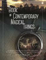 Book of Contemporary Magical Things, The