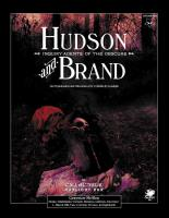 Hudson & Brand - Inquiry Agents of the Obscure
