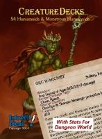Creature Deck - Humanoids & Monsterous Humanoids