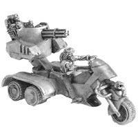 Ork & Dwarf on Heavy Assault Trike