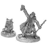 Bandit-Raccoon Shaman & Totem