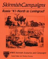 Russia '41 - North to Leningrad