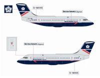 British Airways Express BAe146-200 - G-MANS