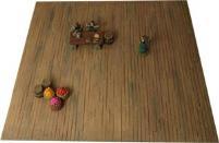 """12"""" x 12"""" Wooden Floor Mat"""