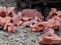 Brick Rubble - Red Mix