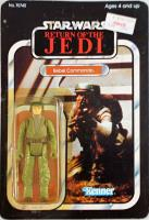 Return of the Jedi - Rebel Commando (65-Back w/Blacked Out Ewoks)