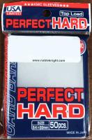 Standard Size- Perfect Hard Sleeves - Clear (50)