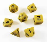 Poly Set Yellow - Hook Top (7)