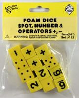 Foam Spot, Number & Operator Dice