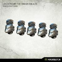 Legionary Veteran Heads - Raven Pattern