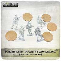 Infantry Squad - Wz. 36 Uniforms Advancing w/Rifles