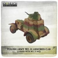 Polish Army WZ.34 Armored Car